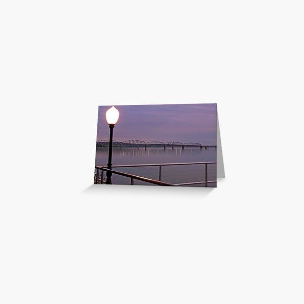 Missouri River at Chamberlain Greeting Card