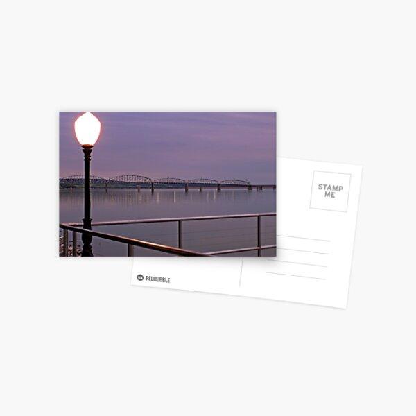 Missouri River at Chamberlain Postcard