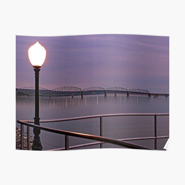 Missouri River at Chamberlain Poster