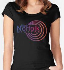 North Norfolk Digital Women's Fitted Scoop T-Shirt