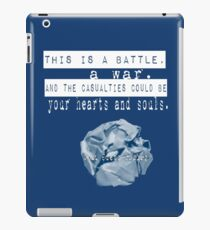 Eine Schlacht, ein Krieg. iPad-Hülle & Klebefolie