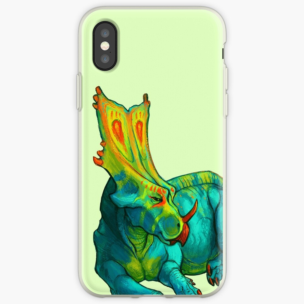 Chasmosaurus belli Funda y vinilo para iPhone