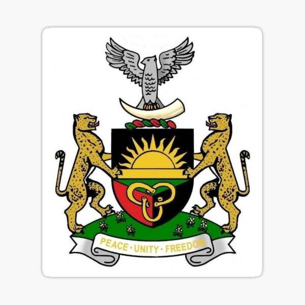 Emblem of Biafra - Biafran Coat of Arms Sticker