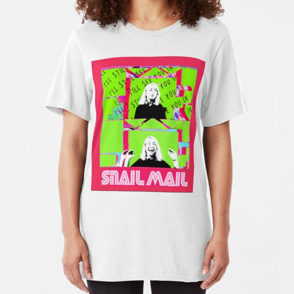Lush Pop art  Slim Fit T-Shirt