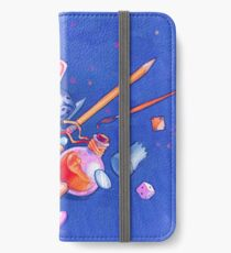 tabletop explosion iPhone Wallet/Case/Skin
