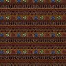 Hylian Patterns (Dark) by Sarinilli