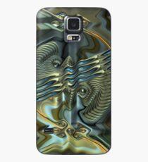 Faulty Brain Waves Case/Skin for Samsung Galaxy
