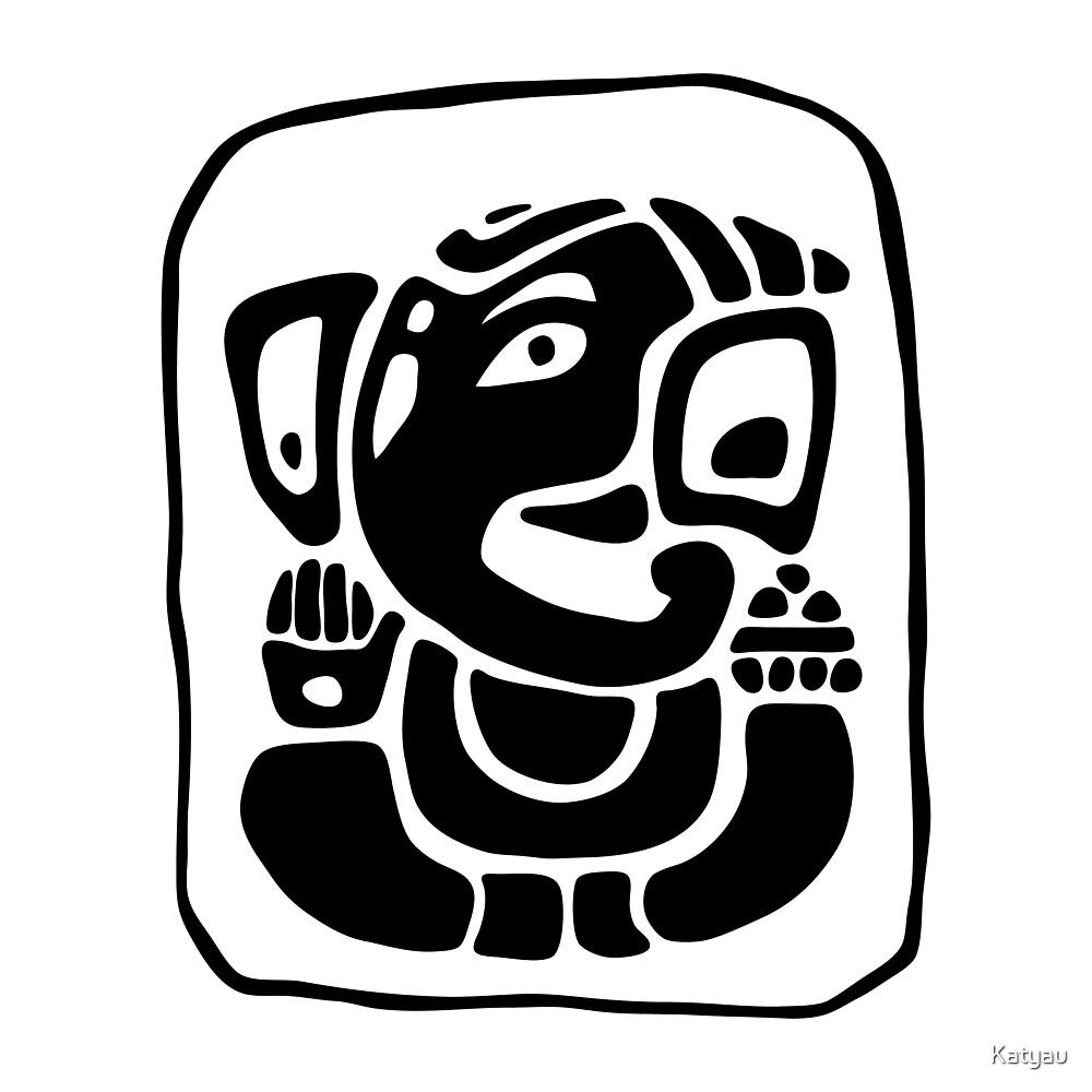 Shri Ganapati by Katyau