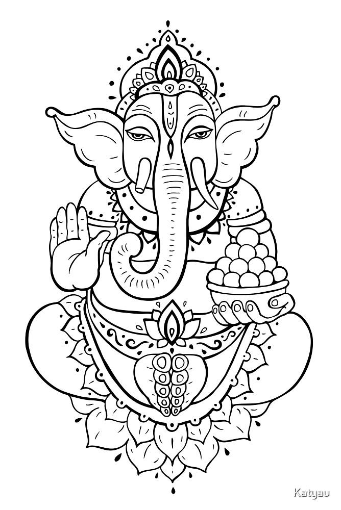 Ganesha by Katyau