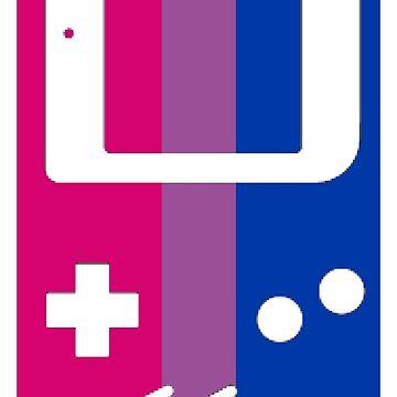 Gaymer - Bisexual Pride GameBoy Color by ay-zup
