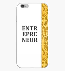 Vinilo o funda para iPhone Emprendedor: ¡alguien que trabaja duro, se apresura y moldea hasta que se logra el éxito!