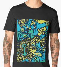 Graffiti Root #5 Men's Premium T-Shirt