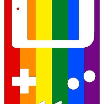 Gaymer - Gay Pride GameBoy Color by ay-zup