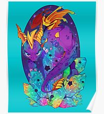 Crystal Spyro Poster
