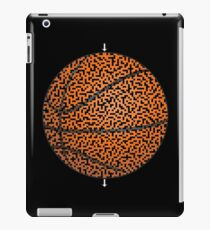 Basketball Shaped Maze & Labyrinth iPad Case/Skin