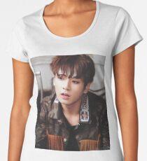 BTS JUNGKOOK Premium Rundhals-Shirt