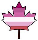 Maple Leaf Lesbian Pride! by Sun Dog Montana