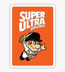 Super Ultra Violence Sticker