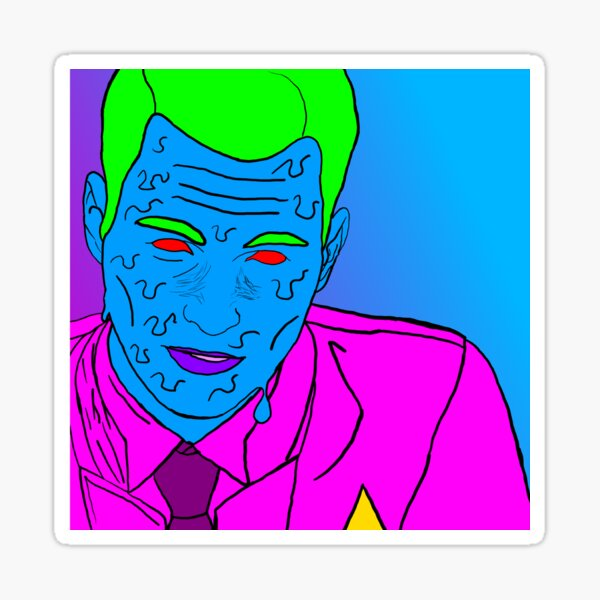 Connor (Detroit Fanart) Sticker