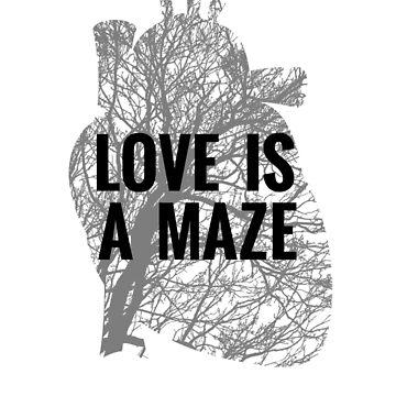 Love is a Maze - BTS  by CactusPop