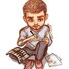 Artist boy by alulawings