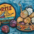 Garlic & Onions by Sarina Tomchin