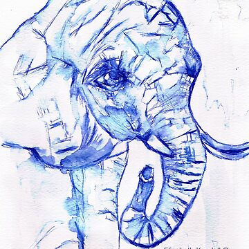 The elephant by Happyart