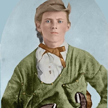 Outlaw Jesse James - age 16, Colorized by Laurynsworld