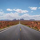 Highway 163, Monument Valley Utah by Michelle McConnell