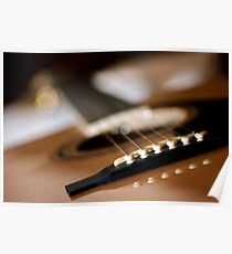 guitar. Poster