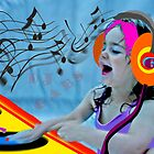 DJ Gabs by eelsblueEllen