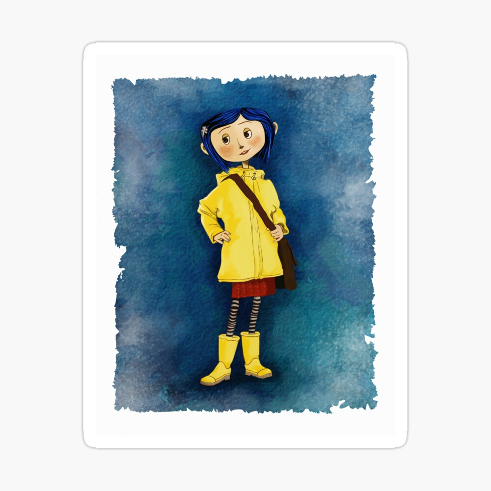 Coraline Canvas Print By Banasdesign Redbubble