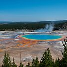 Grand Prismatic Spring, Yellowstone National Park by Michelle McConnell