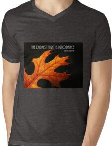 The darkest hour. Mens V-Neck T-Shirt