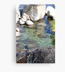 """""""Lake Tahoe Shoreline"""" Canvas Print"""