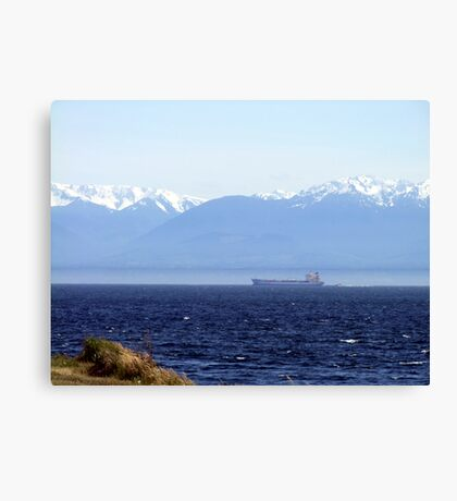 Between Two Lands Canvas Print