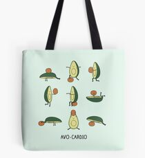 Avo-cardio Tote Bag