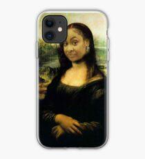 Raven Mona Lisa iPhone Case