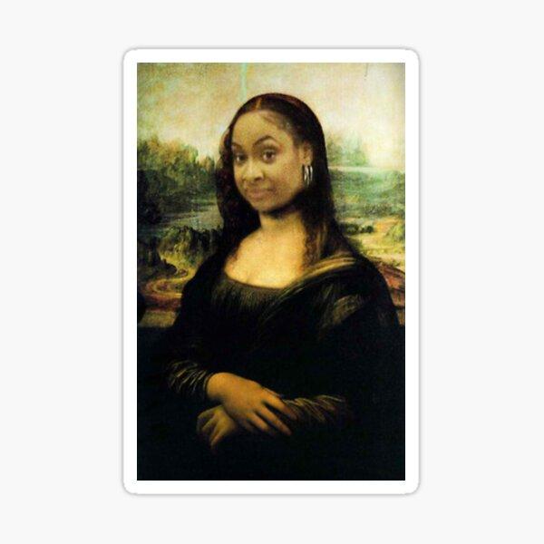 Raven Mona Lisa Sticker