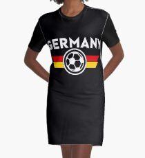 Germany Jersey Shirt Deutschland Graphic T-Shirt Dress