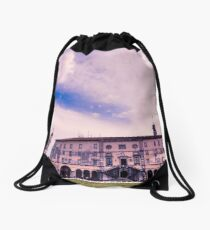 Spring afternoon in the city of Udine Drawstring Bag
