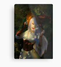 Witchy Metal Print
