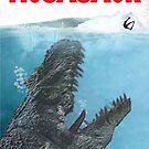 Mosasaur by Custranz