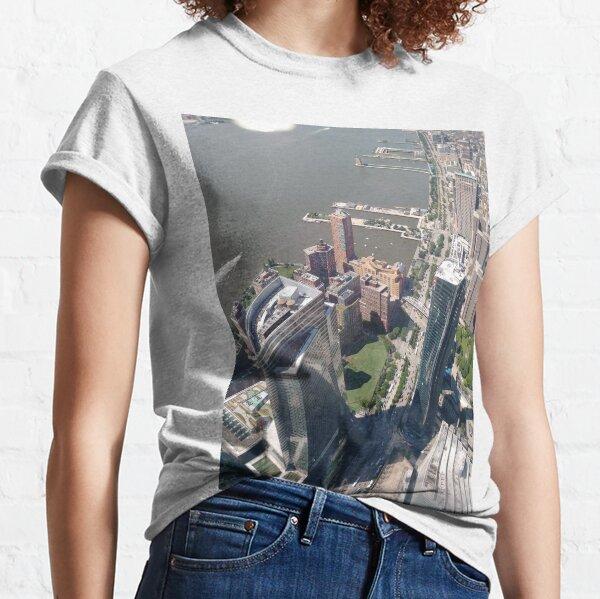New York, Manhattan, downtown, #NewYork, #Manhattan, #downtown  Classic T-Shirt