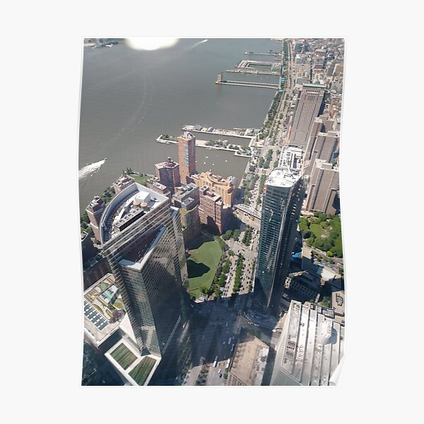 New York, Manhattan, downtown, #NewYork, #Manhattan, #downtown  Poster