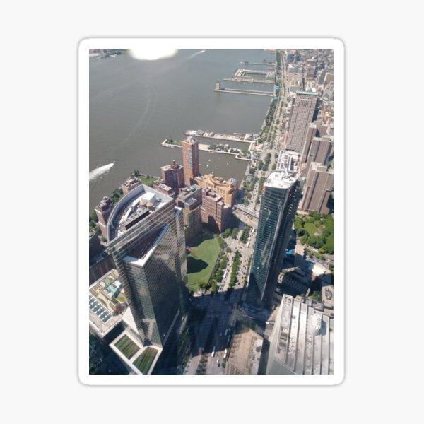 New York, Manhattan, downtown, #NewYork, #Manhattan, #downtown  Sticker