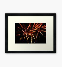 Wallpaper. Salute like palm trees. Independent Day Framed Print