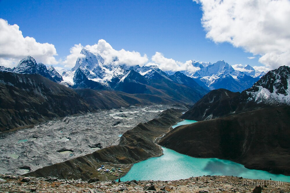Shimmering Himalaya by Richard Heath