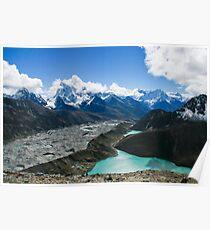 Shimmering Himalaya Poster