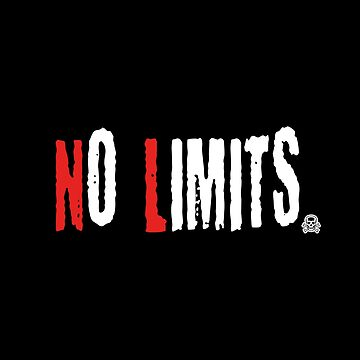 No Limits 2-motivating speech-quote shirt by XLXDesign